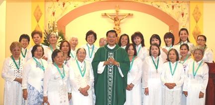 Hình Ảnh Mừng Lễ Bổn Mạng Hội Các Bà Mẹ Công Giáo ngày 19/8/2012