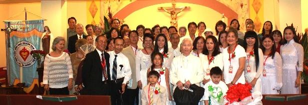 Hình Ảnh Mừng Lễ Thánh Nữ Têrêsa Hài Đồng Giêsu - Bổn Mạng Đạo Binh Hồn Nhỏ  ngày 2/10/2012